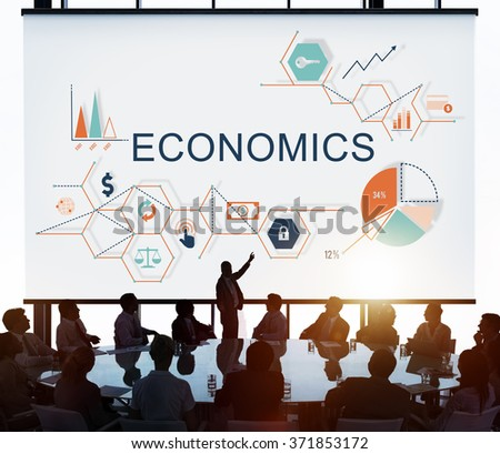 Economics Business Financial Budget Investment Concept - stock photo