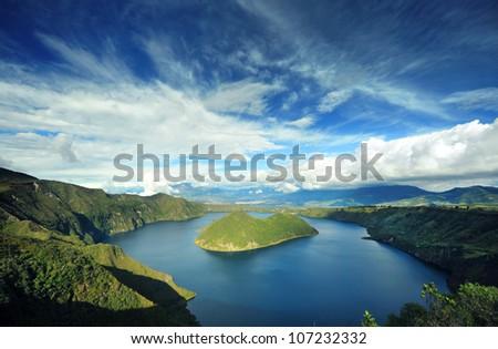 ecuador - stock photo