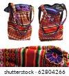 ecuador bag - stock photo
