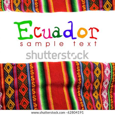 ecuador ornament - stock photo