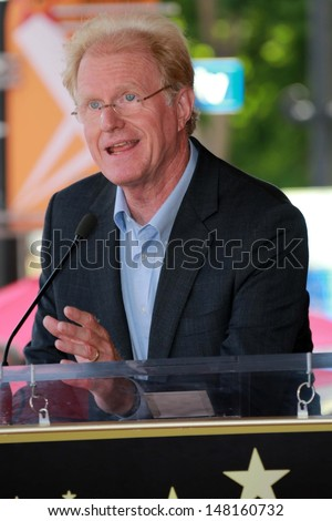 Ed Begley Jr. at the Peter Falk Star on the Hollywood Walk of Fame Ceremony, Hollywood, CA 07-25-13