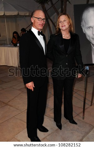 Ed Harris and Amy Madigan   at SBIFF's 3rd Annual 'Kirk Douglas award honoring Excellence in film'. Biltmore Four Seasons Hotel, Santa Barbara, CA.10-02-08