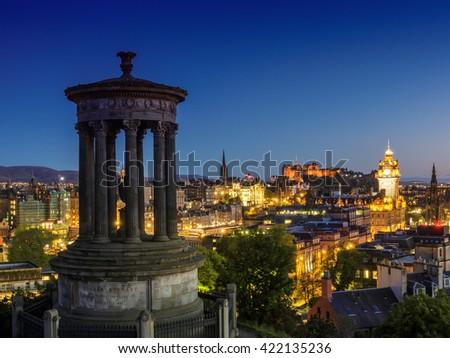 Edinburgh City Stock Images Royalty Free Images Vectors