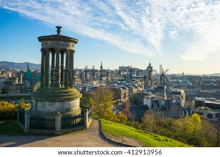 Beautiful View City Edinburgh Stock Photo 112513559 Shutterstock