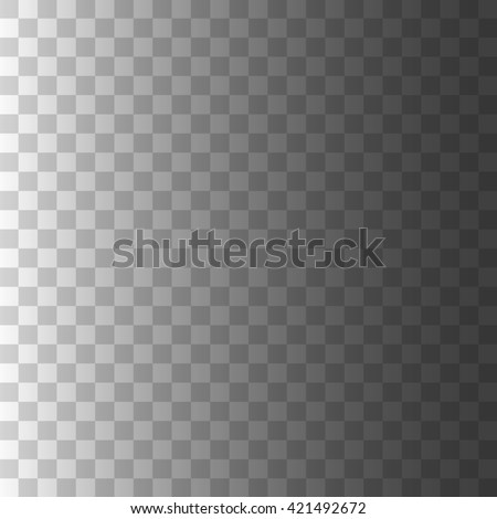 Editable background for transparency image. illustration for modern transparent design. Square seamless pattern in based. White, black and grey colors. Web element. - stock photo