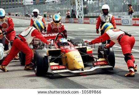 EDITORIAL - Molson Indy Car Racing - stock photo
