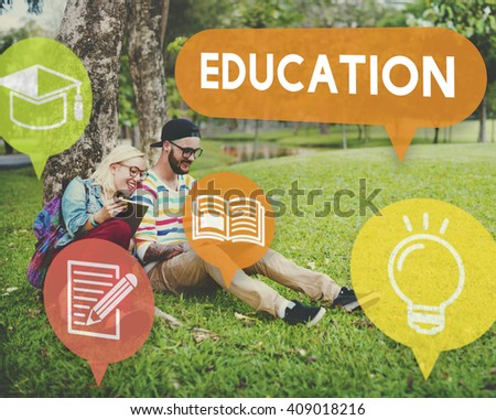 Education College Intelligence Knowledge Leaning Concept - stock photo