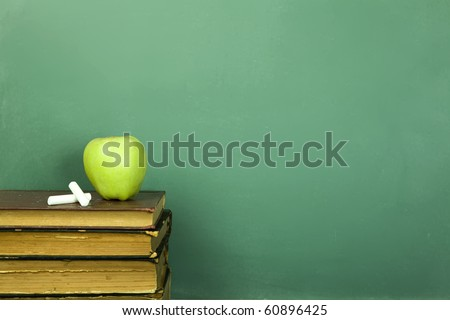 Education concept, toned and copy space - stock photo