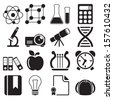 Education Icons Vol 2 - stock photo