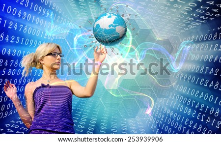 Education.Internet concept - stock photo