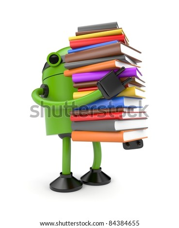 Education metaphor - stock photo