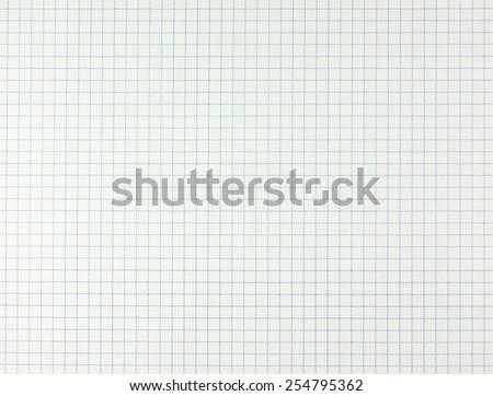 Education notebook grid texture background - original - stock photo