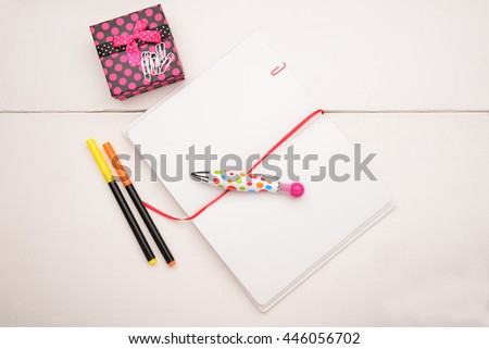 Education objects - stock photo