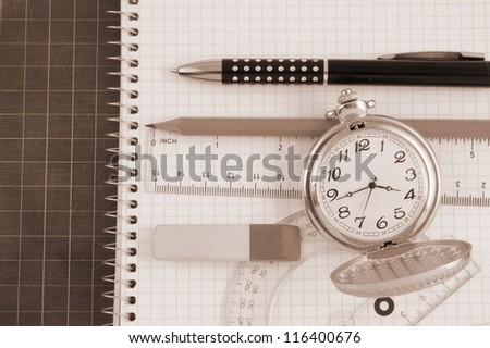 Education time concept - stock photo