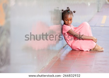 Educational school isolation and bullying concept. - stock photo