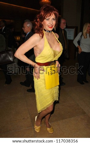 Edy Williams at the 44th Annual ICG Publicists Awards. Beverly Hilton Hotel, Beverly Hills, CA. 02-07-07 - stock photo
