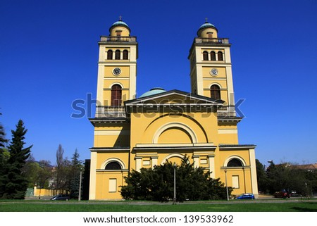 Eger, Hungary - stock photo