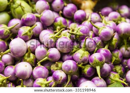 eggplant or aubergine vegetable - stock photo