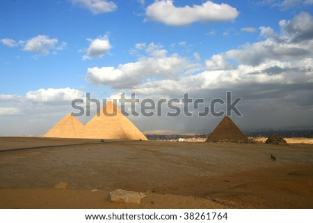 Egypt's pyramid is the world's most famous cultural heritage, which represents the ancient civilization.