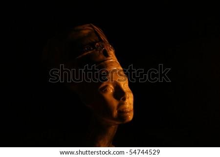 Egypt statue. - stock photo