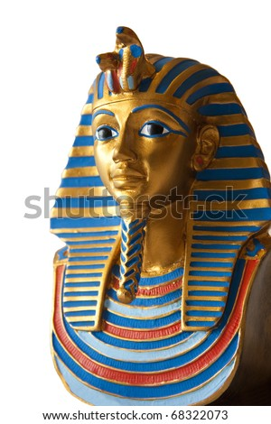 Egyptian pharaoh miniature - stock photo