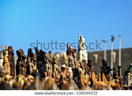 Egyptian souvenirs - stock photo