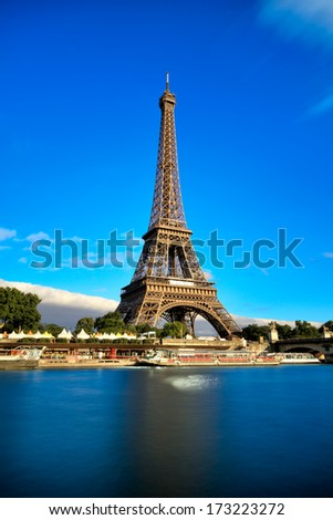 Eiffel Tower, Paris - stock photo