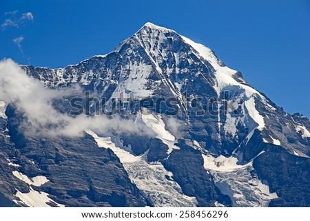 Eiger Jungfrau (Jungfrau region, Switzerland) - stock photo