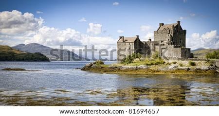 Eilean Donan Castle, Scotland - stock photo