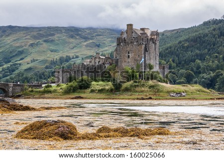Eilean Donan Castle, Scotland, Uk - stock photo