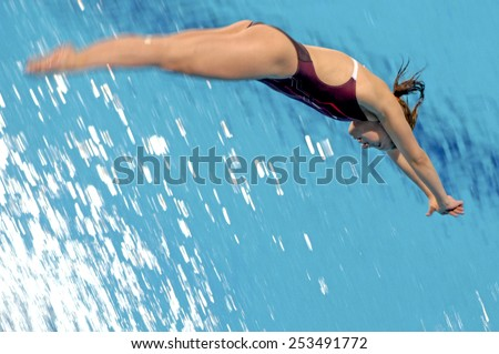 Woman Diving Stock Images Royalty Free Images Vectors Shutterstock