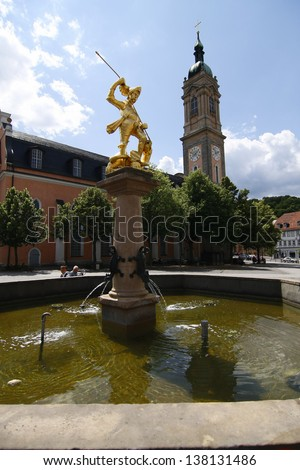 Eisenach, Thueringen - stock photo
