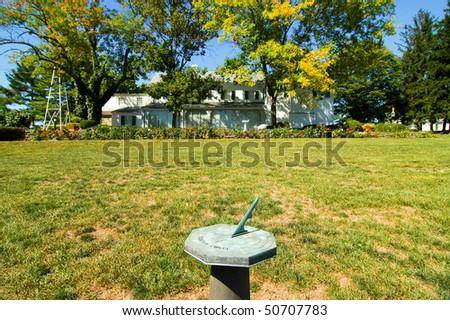 Eisenhower National Historic Site - stock photo