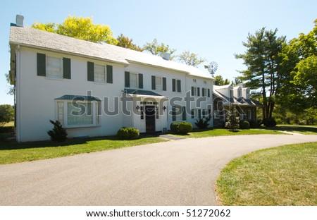 Eisenhower National Historic Site home - stock photo