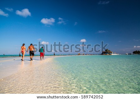 El Acuario - San Andres Island, Colombia - stock photo