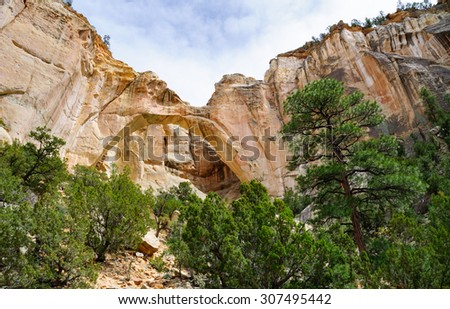 El Malpais National Monument - stock photo