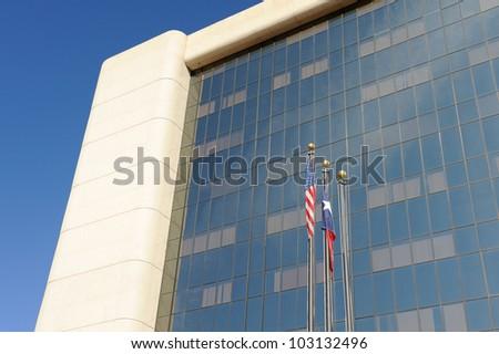 El Paso City Hall Building. - stock photo