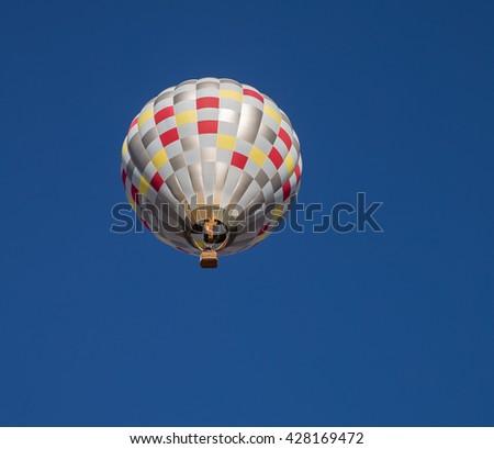 EL PASO  MAY 29.  The 2016 El Paso Balloon Festival was held at the Bowen Ranch May 29, 2016 in El Paso, Texas. - stock photo