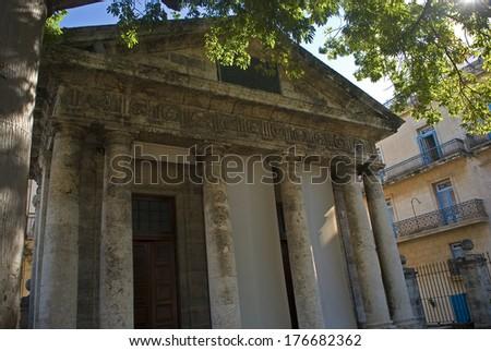 El Templete Chapel, Havana, Cuba - stock photo