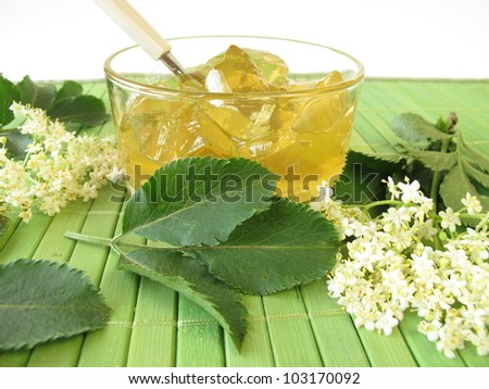 Elderflower jam