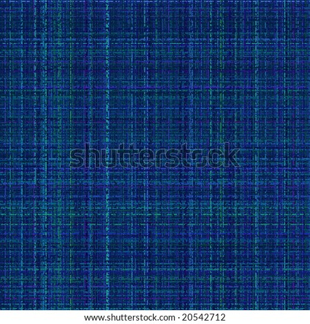 electric blue tweed material texture illustration - stock photo