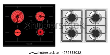 electric cooker - stock photo