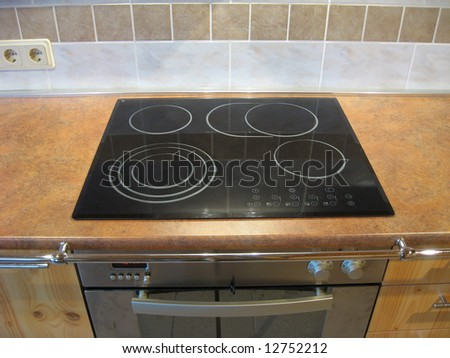 Wonderful Electric Cooker And Oven In The Kitchen