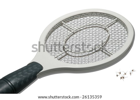 Electric Fly Swatter - stock photo