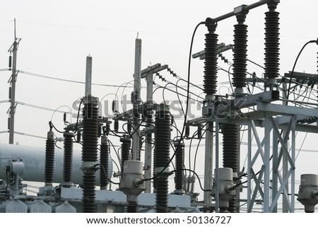 Electric generator, Thailand. - stock photo