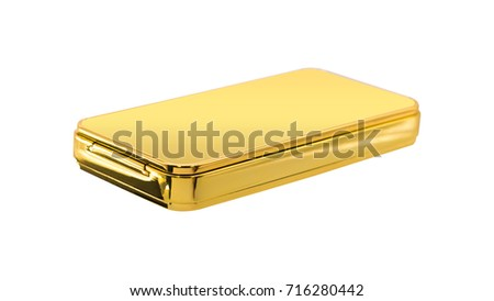 Electric lighter isolated on white background. Clipping paths object.