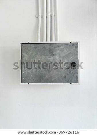 Electrical box - stock photo