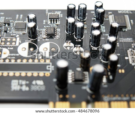 Electrical computer board