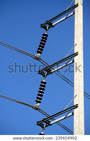 Electrical concrete pole