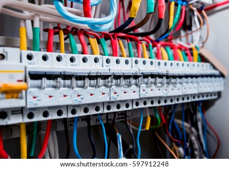 electrical equipment background texture stock photo royalty free rh shutterstock com electrical wiring equipment list wiring electrical equipment and circuits